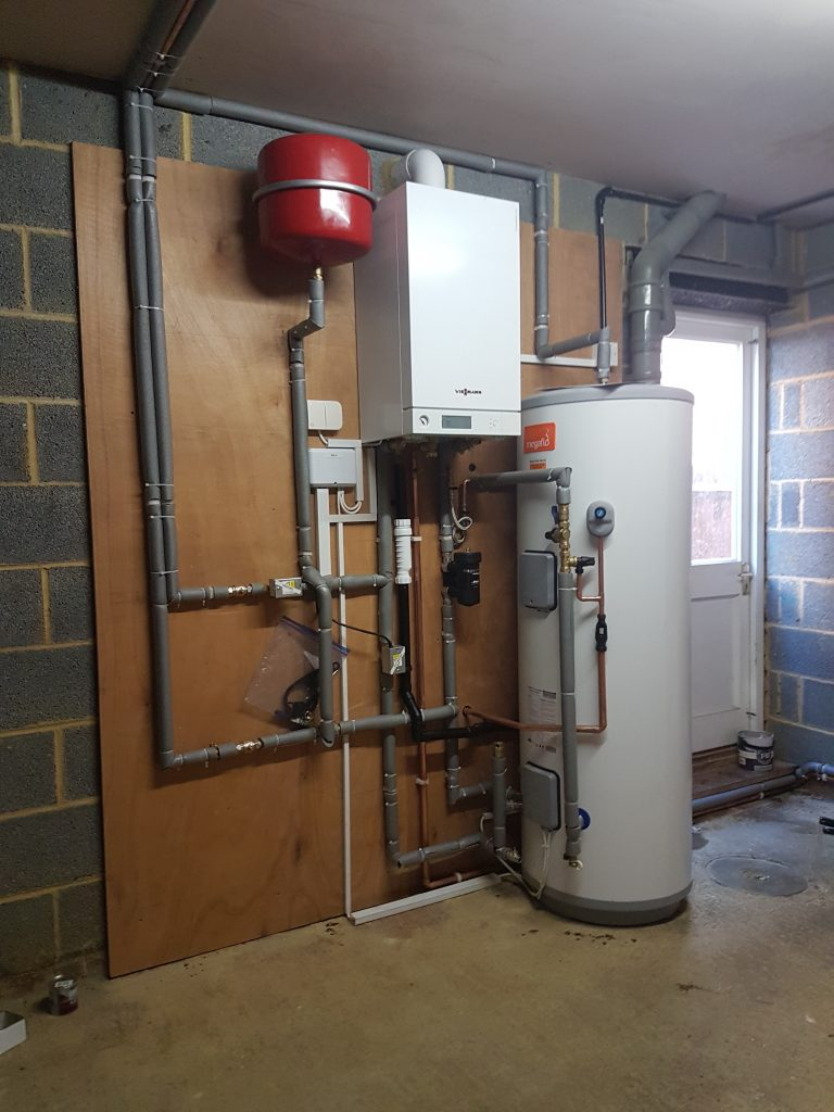 Viessmann Boiler Installation with Megaflow Unvented Indirect Cylinder